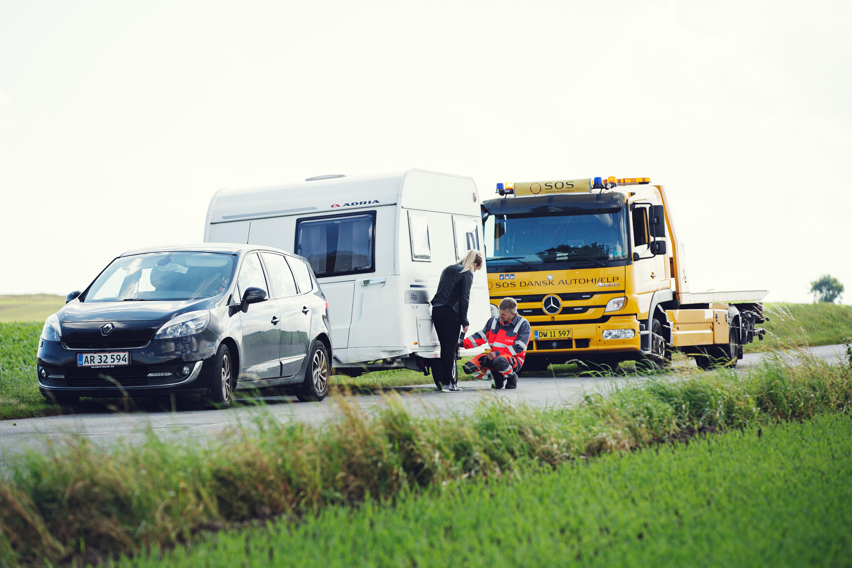 67028e88225 Vejhjælp i Danmark og Europa   Campingvogn abonnement   SOS DAH